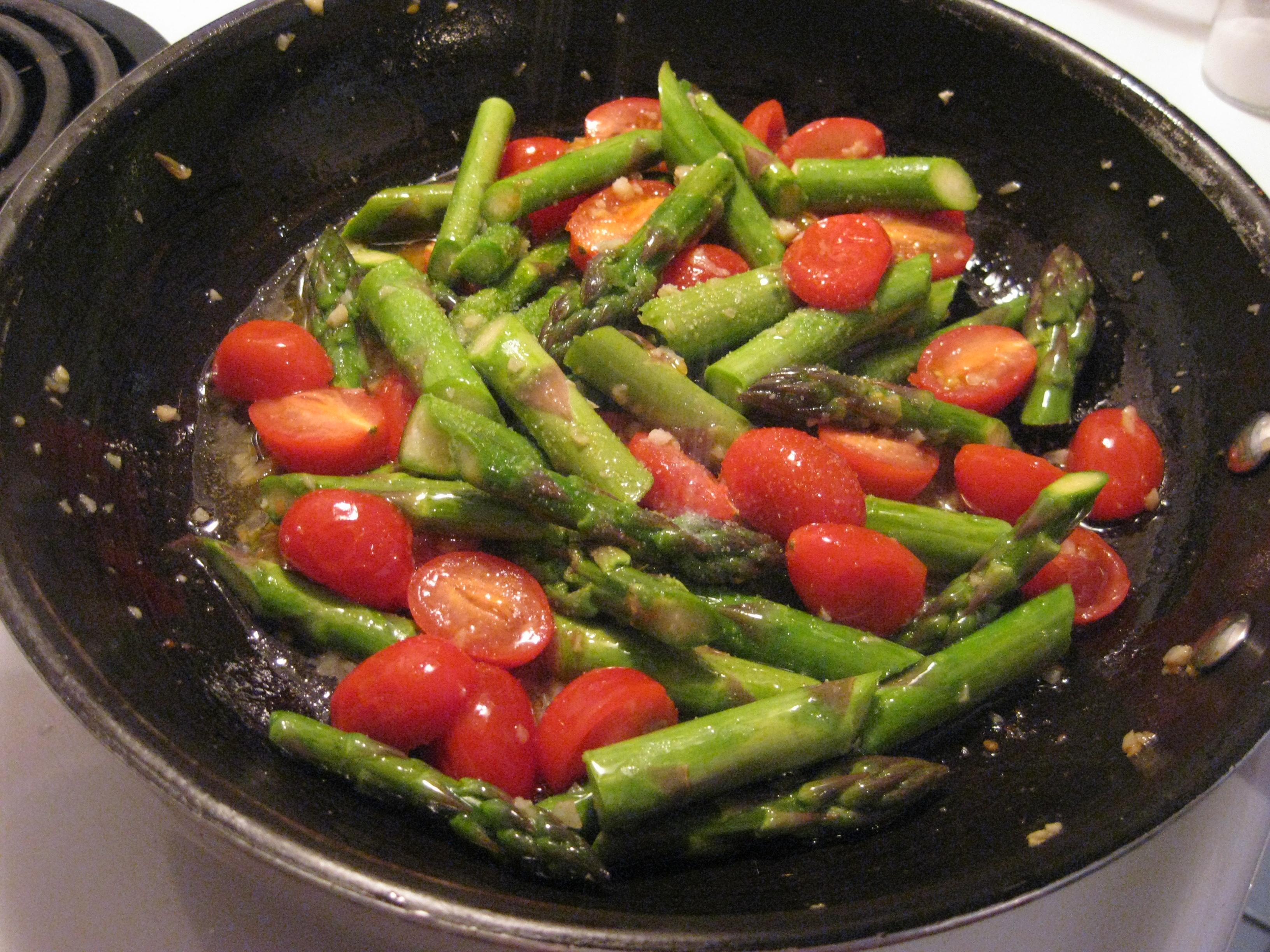 Asparagus Pasta Recipe — Dishmaps